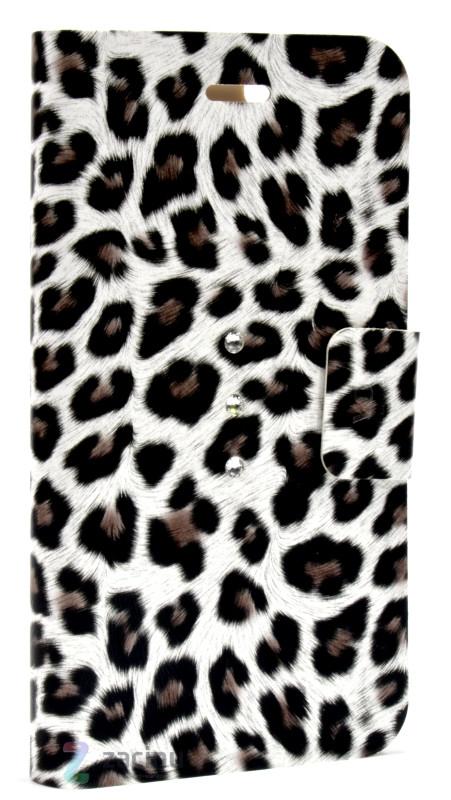 Чехол книжка White Diamonds для iPhone 6 / 6S Cryatal Wallet Коричневый