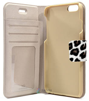 Чехол книжка White Diamonds для iPhone 6 / 6S Cryatal Wallet Коричневый, фото 2