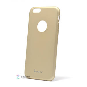 Чохол-накладка iPaky для iPhone 6/6S Metal Plating ser. Золотистий, фото 2