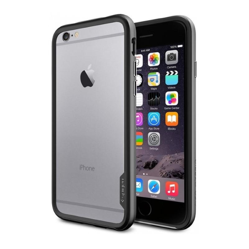Чохол-бампер Spigen для iPhone 6/6S NEO Hybrid ser. Чорний