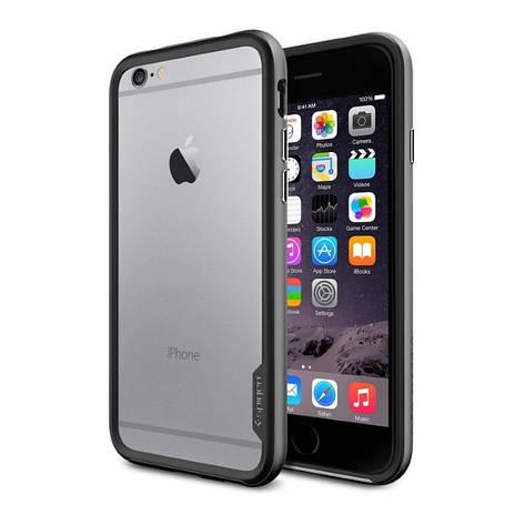 Чохол-бампер Spigen для iPhone 6/6S NEO Hybrid ser. Чорний, фото 2