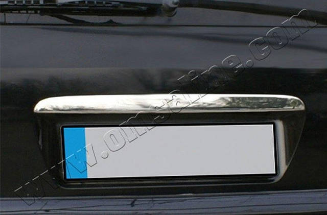 Накладка над номером Mercedes Vito W639 (2003-2014) (нерж.)