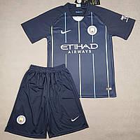 Футбольная форма Манчестер Сити синяя сезон 2018-19