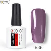 Гель-лак GDCOCO 8 мл, №838 (сіро-фіолетовий)