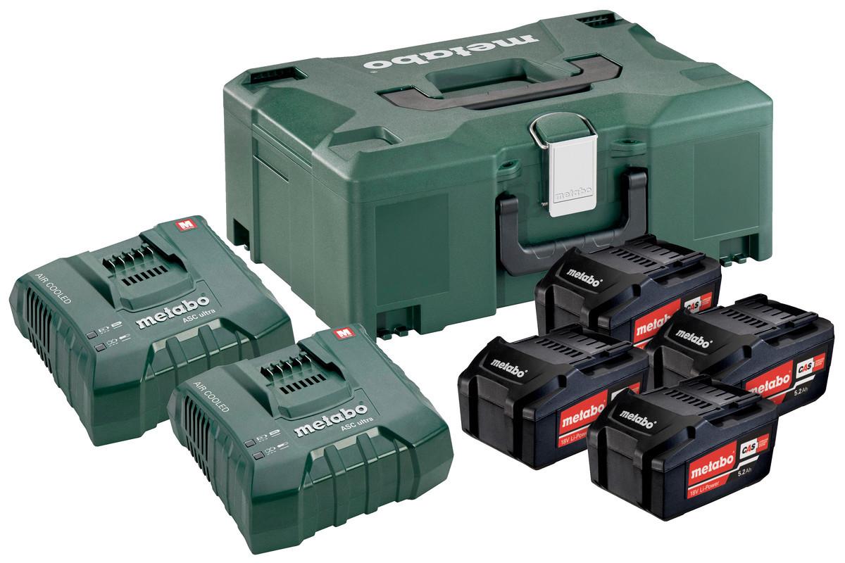 Basic-Set 4x Li 5,2Ah + ML + 2x ASC Ultra Базовий комплект