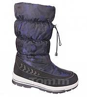 Сапоги зимние на девочку, детская подростковая зимняя обувь ТомМ Размеры 31-33