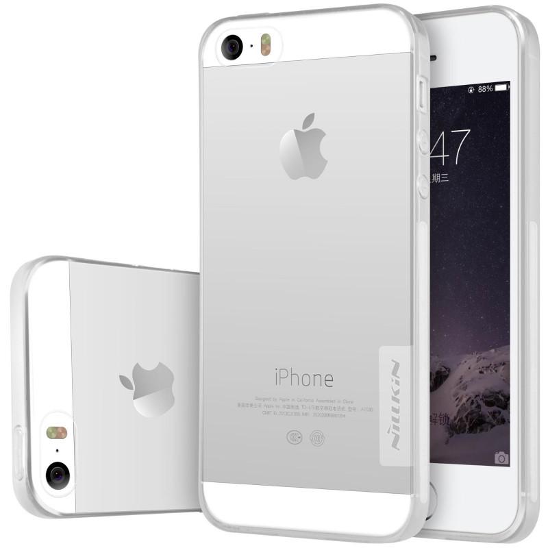 Чохол-накладка Nillkin для iPhone 5/5S/SE Nature ser. Безколірний/прозорий