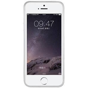 Чохол-накладка Nillkin для iPhone 5/5S/SE Nature ser. Безколірний/прозорий, фото 2