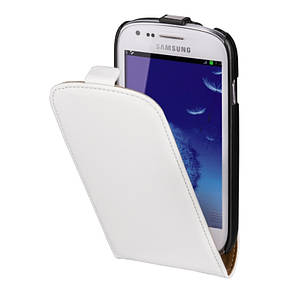 Чохол-фліп Hama для Samsung i8190 S3 mini Smart Case. Білий, фото 2