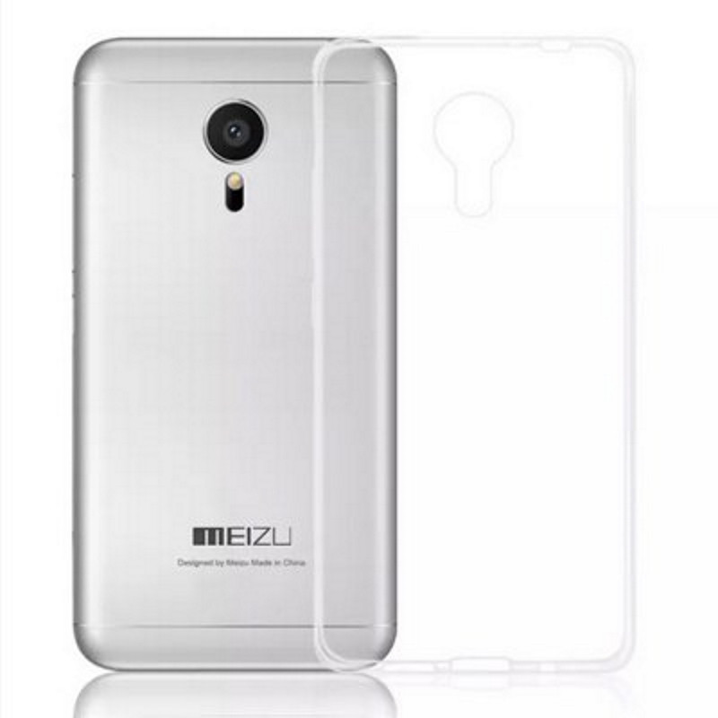 Чохол-накладка TPU для Meizu MX5 Ultra-thin ser. Прозорий/безколірний