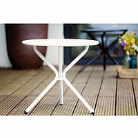 Столик для сада Tris белый, фото 1