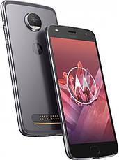 Смартфон MOTOROLA Moto Z2 Play (XT1710-09) 64Gb Dual Sim (Cірий), фото 3