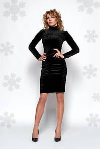 Платье Брук 0442_2 чёрный
