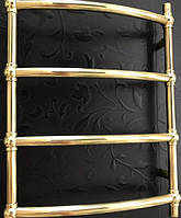Золотой полотенцесушитель Ретро Шар 4 500*700 АЗОТЦМ , фото 1