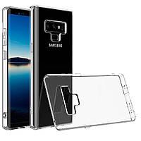 Силиконовый чехол 0,33 мм для Samsung Galaxy Note 9 прозрачный