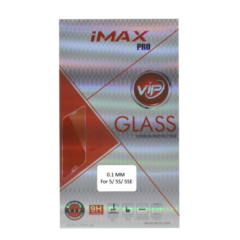 Захисне Скло iMax для iPhone 5/5S/SE Class ser. 0.1mm Прозоре/безколірне