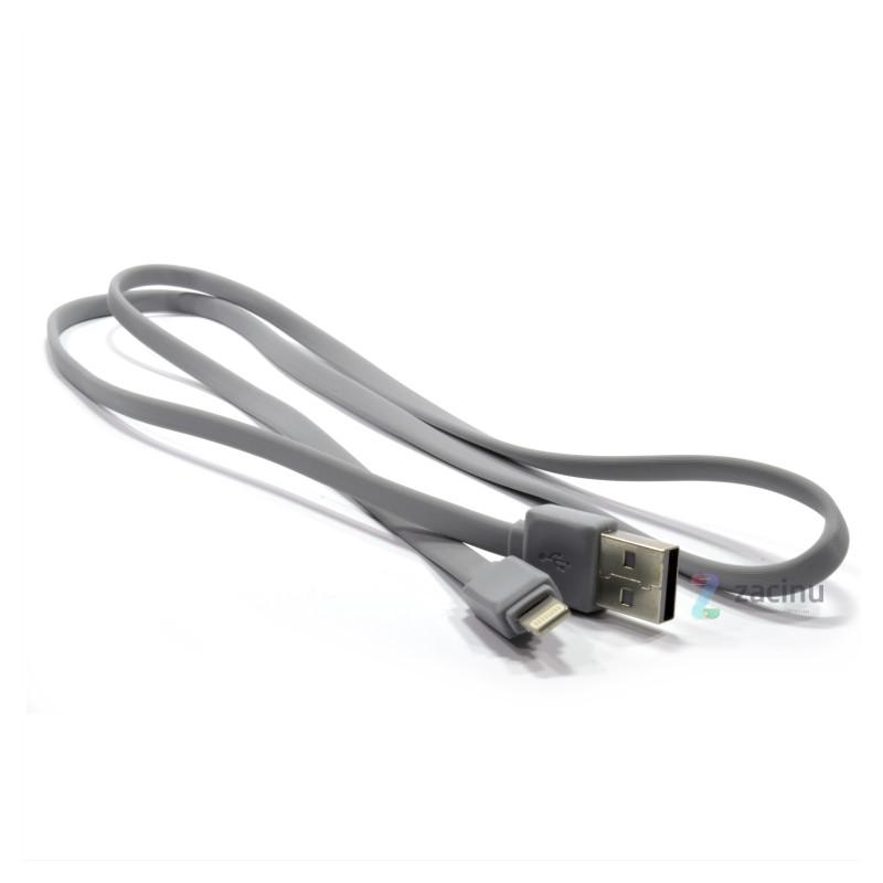 Кабель Remax RC-008i для iPhone 5-7 Lightning Fast ser. 100см Серый
