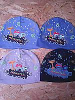 Весенние трикотажные шапочки для мальчика , фото 1