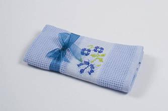 Полотенце кухонное Lotus Life - Голубой 40*60