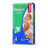 Подгузники Pampers activ baby 4