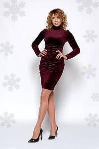 Платье Брук 0442_1 рубин