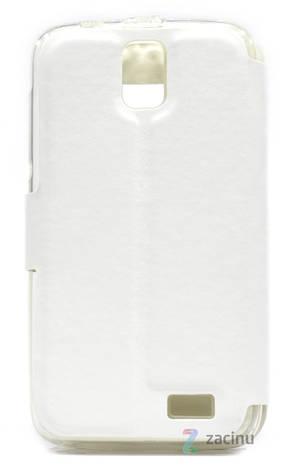 Чехол книжка для Lenovo A328 Белый (176862), фото 2