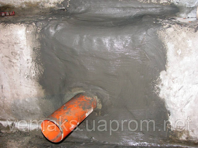 Гидроизоляция проходов труб в фундаментах