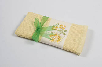 Полотенце кухонное Lotus Life - Желтый 40*60