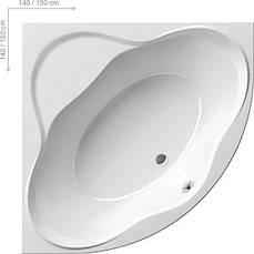 Ванна акриловая Ravak NewDay 150х150, фото 3