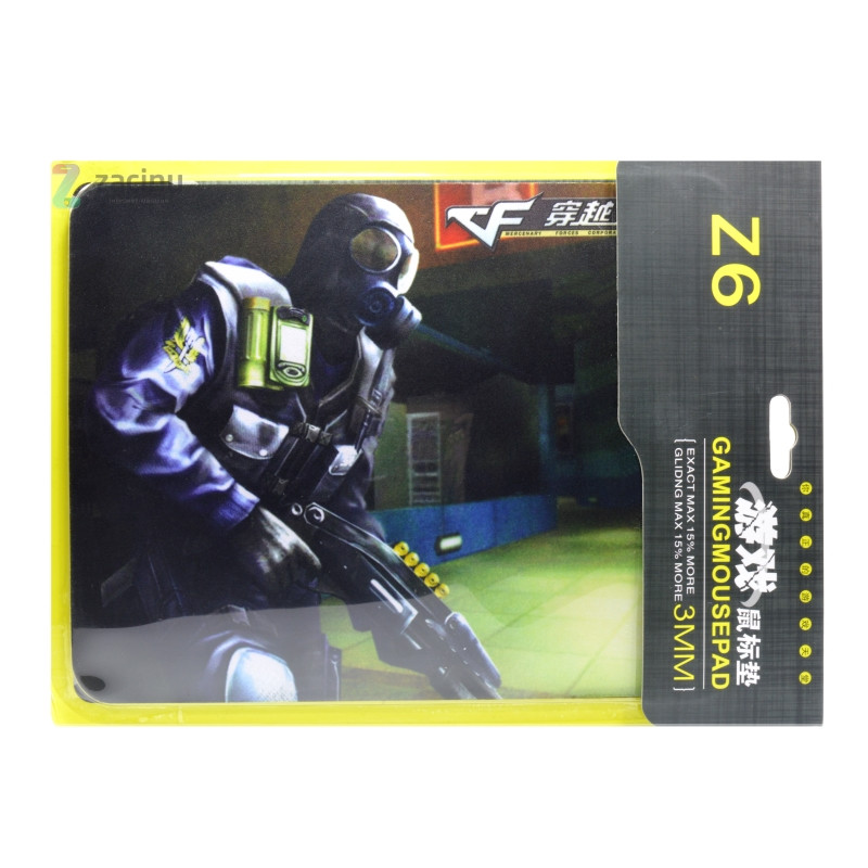 Коврик для мышки Z6 / Дробовик Черный