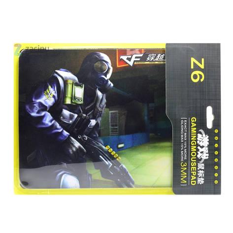 Коврик для мышки Z6 / Дробовик Черный, фото 2