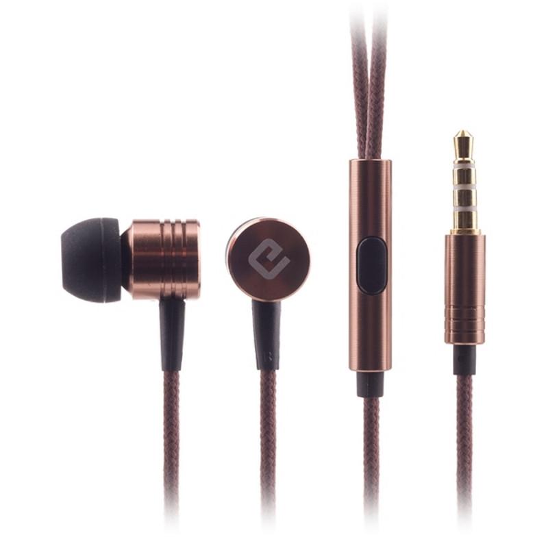 Навушники ERGO ES-600i Minion Bronze