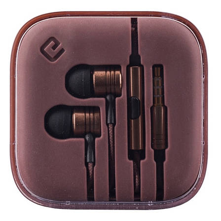 Навушники ERGO ES-600i Minion Bronze, фото 2