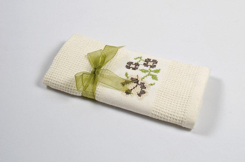 Полотенце кухонное Lotus Life - Крем 40*60