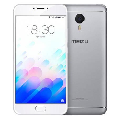 Смартфон MEIZU M3 Note 3/32GB Сріблястий, фото 2