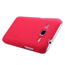Чохол-накладка Nillkin для Samsung G360H/ G361H/ Core Prime Duos/ Matte ser./ + плівка/ Червоний, фото 2