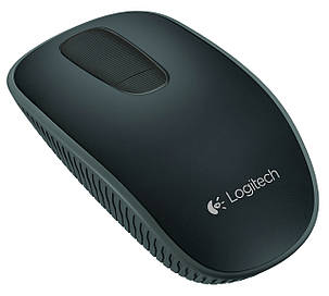 Мышка Logitech Wireless Touch Mouse T400 BLACK, фото 2