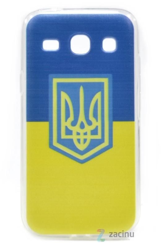 Чохол-накладка для Samsung G350 Герб Синьо-жовтий