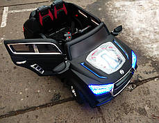 Детский Электромобиль Джип Audi Q9 j035 на аммортизаторах и радиоуправлении. Автопокраска! Надувные колеса!, фото 2