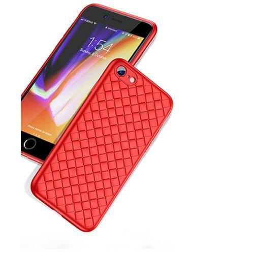 Чехол Baseus iPhone 7/8+ Weaving (Red)