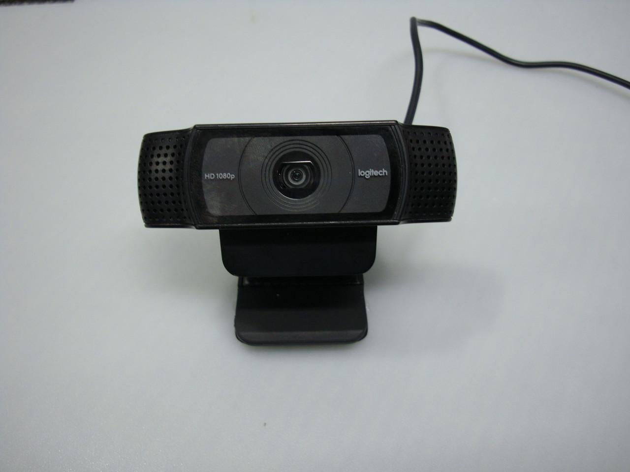 Веб-камера Logitech Webcam HD Pro C920 FullHD (1920x1080) с частотой 30 кадров/сек