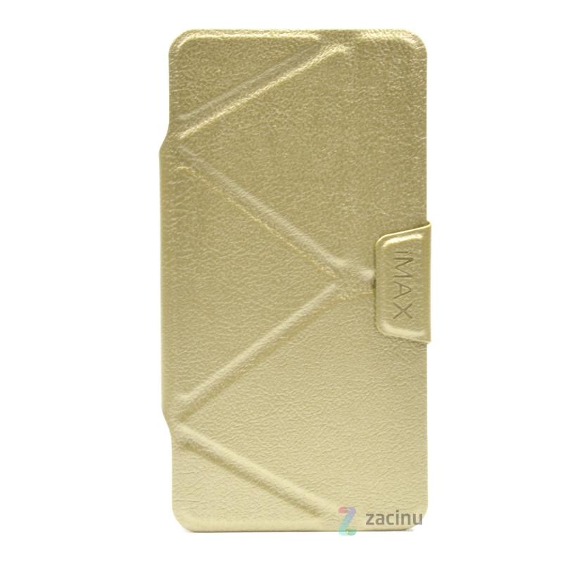 Чохол-книжка iMAX для Xiaomi Redmi Note 3/ Pro Smart Case ser. Золотистий(332559)