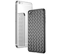Чехол Baseus iPhone 7/8+ Weaving (Black)