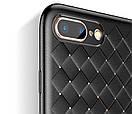 Чехол Baseus iPhone 7/8+ Weaving (Black), фото 4