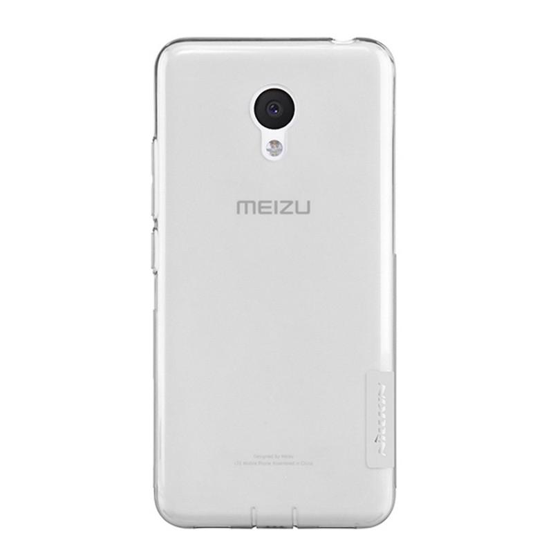 Чохол-накладка Nillkin для Meizu M3/ M3 mini/ M3s Nature ser. Сірий/прозорий(119833)