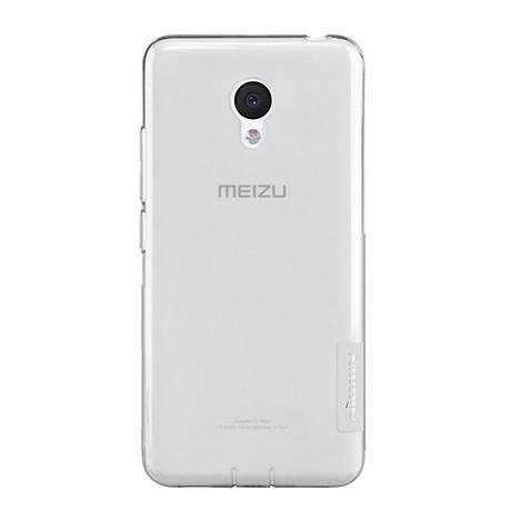 Чохол-накладка Nillkin для Meizu M3/ M3 mini/ M3s Nature ser. Сірий/прозорий(119833), фото 2