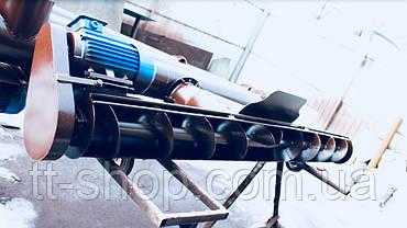 Подборщик шнековый под трубу 108 мм, ширина 2 м, фото 2