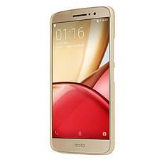 Чохол-накладка Nillkin для Motorola Moto M (XT1663/ XT1662) Matte ser. +плівка Золотистий(134454), фото 2