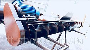 Подборщик шнековый под трубу 133 мм, ширина 2 м