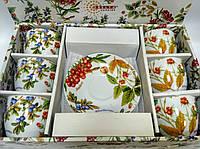 """Набір чайний ТМ Keramia 24-198-045 """"Лісові Ягоди"""" 12 предметів, фото 1"""